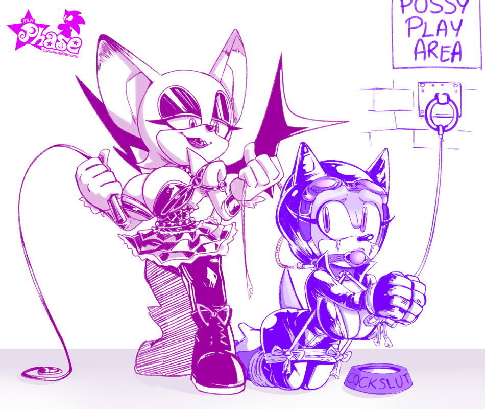 rouge x sonic and amy Wreck it ralph