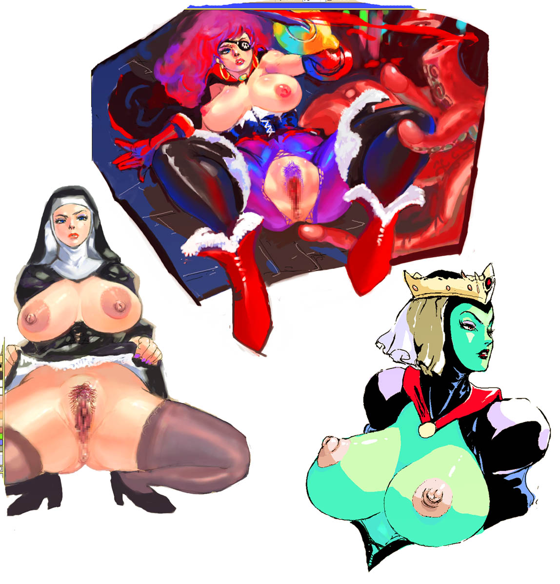 the the mage queen demon and Breath of the wild princess zelda nude