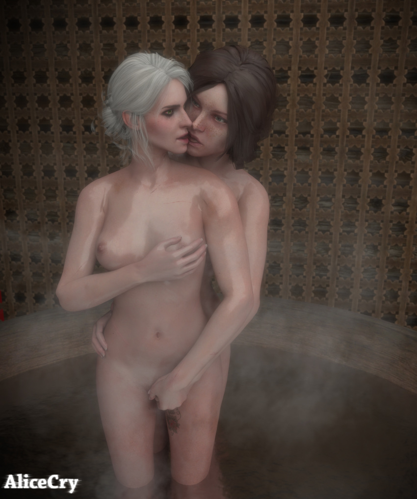 ciri 3 witcher Seismic wolf girl with you