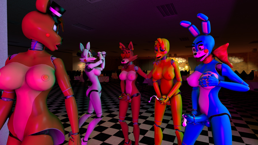 and chica toy foxy fnaf Angels with scaly wings sebastian