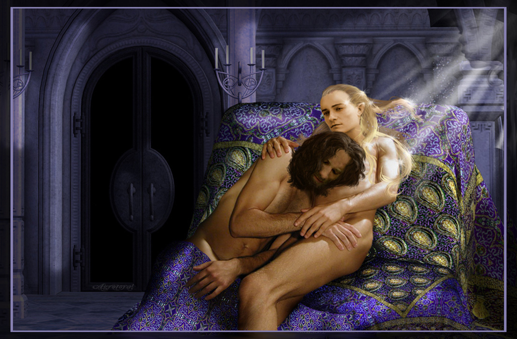 lord of the ring nude The walking dead game