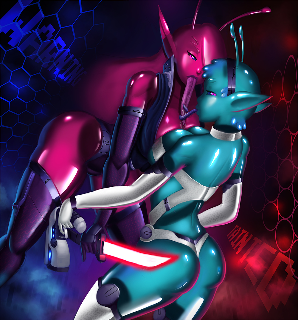 in tainted trials fenoxo space Me-mow original drawing
